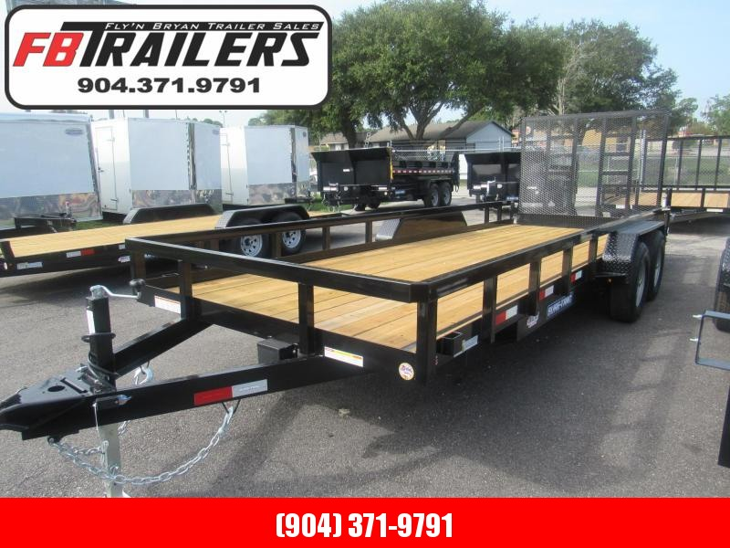 2020 Sure-Trac 7X20 HD Contractors Utility Trailer