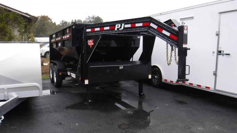 2018 PJ Trailers 14' Rollster Roll Off Dump Trailer by PJ Trailers