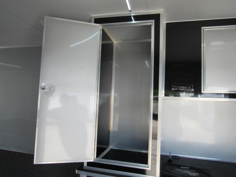 2020 Cargo Mate 34ft Aluminum Frame Enclosed Cargo Trailer