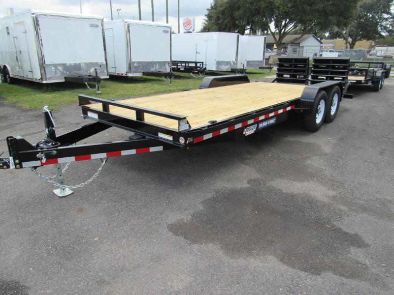 2019 Sure-Trac 7X20 3 ft Dovetail Equipment Trailer