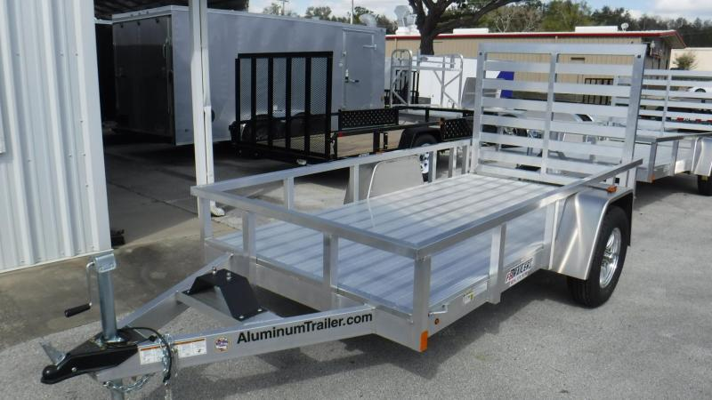 2018 5x10  Aluminum Open Utility  Trailer by ATC