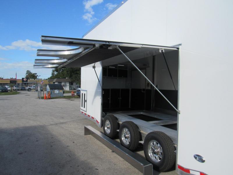 2020 ATC 26ft All Aluminum Stacker Car / Racing Trailer