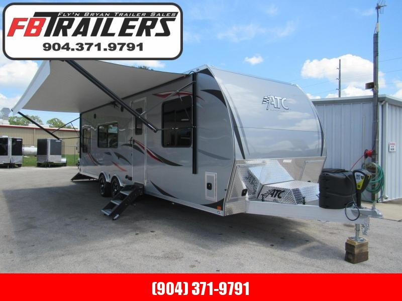 2019 ATC 28 ft Front Bedroom Toy Hauler