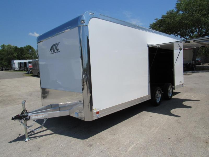 2020 ATC 20ft Race Trailer with Premium Escape Door (Weight Only 2982)