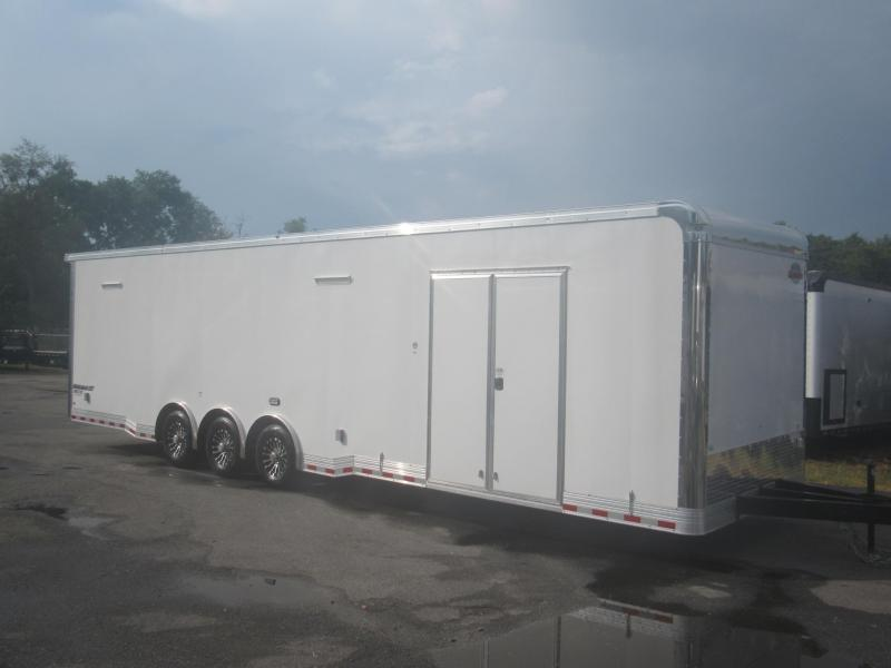 2019 Cargo Mate 34ft with Rear Loading Lights Car / Racing Trailer