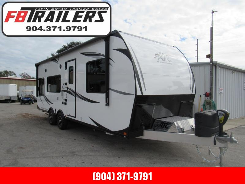 2019 ATC 8.5X25 Front Bedroom Toy Hauler