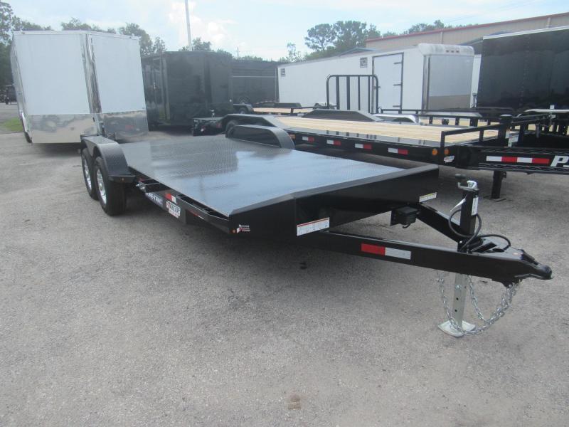 2019 Sure-Trac 20ft Steel Deck Open Car Hauler