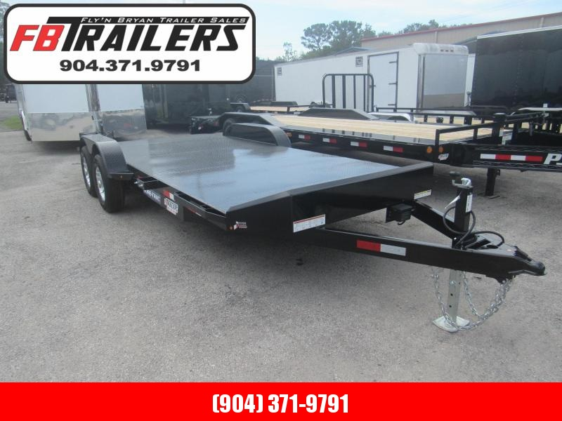 2019 Sure-Trac 20ft Steel Deck Open Car Hauler