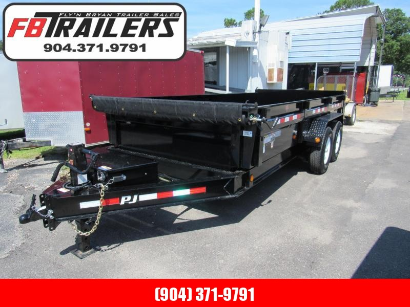 2020 PJ Trailers 16ft Dump Trailer