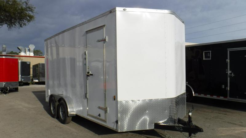 2018 7x16 Enclosed Cargo Trailer By Continental Cargo