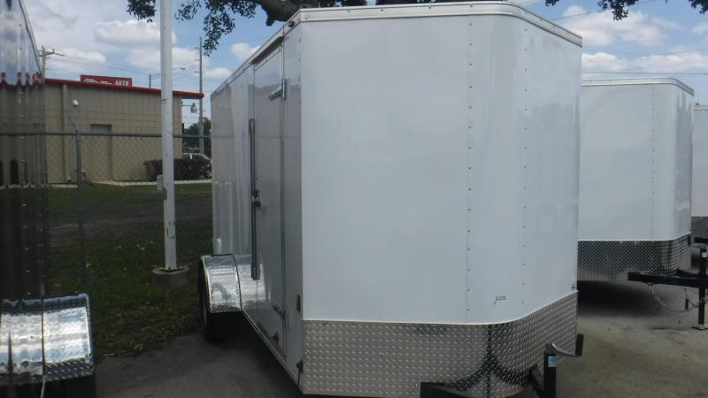 2019 6x12 Enclosed Cargo Trailer by Continental Cargo