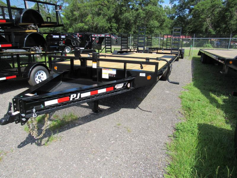 2019 22'  I-Beam Deckover Equipment Trailer
