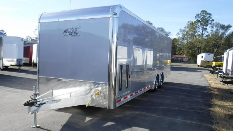 2017  28' ATC Quest 305  Spread Axle Race Trailer by ATC