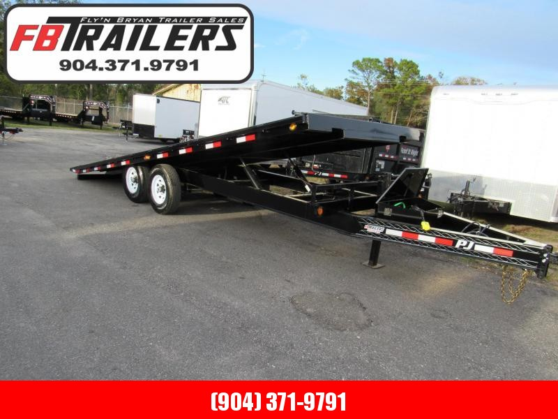 2019 PJ Trailers 22ft Deckover Tilt Equipment Trailer