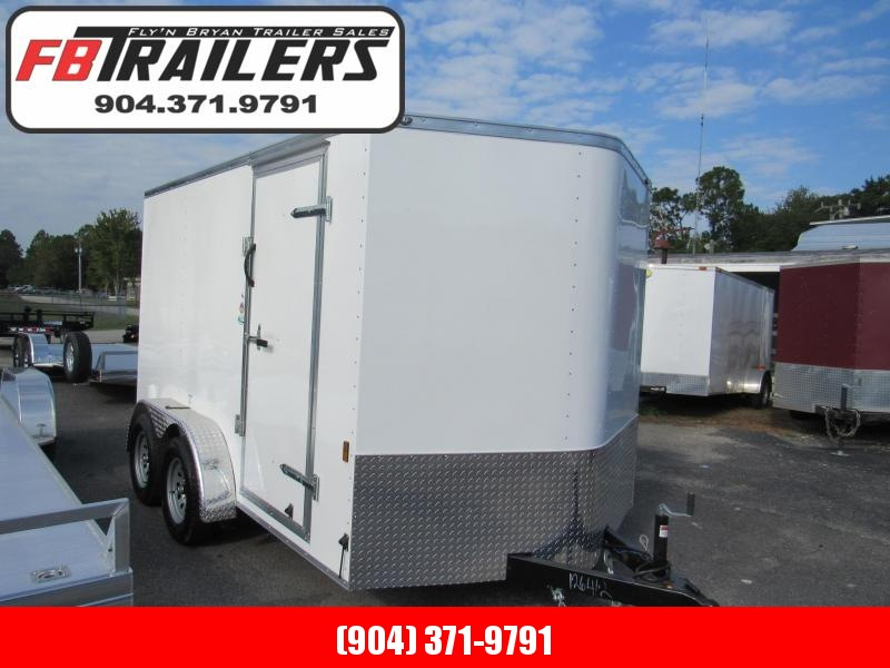 2020 Continental Cargo 7X12 Enclosed Cargo Trailer