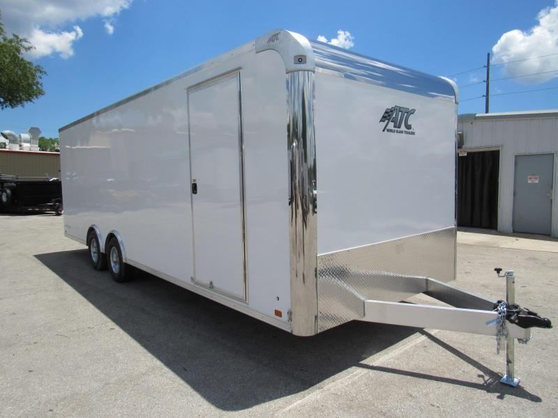 2020 ATC 24ft Raven Race Trailer (Weight is only 3209 LBS)