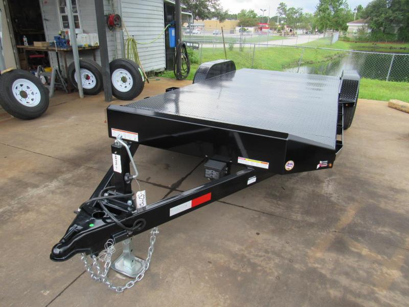 2019 Sure-Trac 20ft Steel Deck Open Car Hauler Car / Racing Trailer