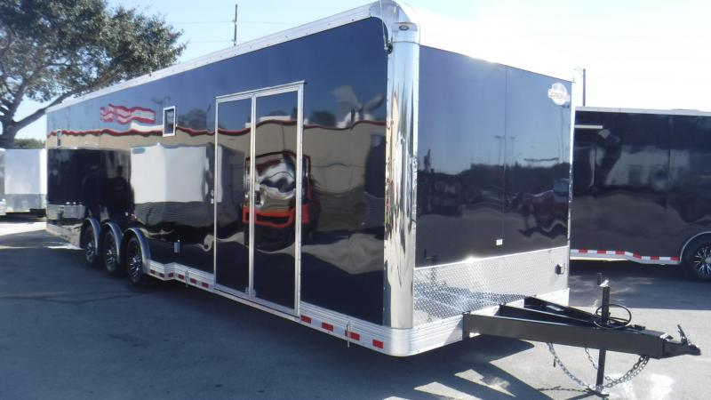 2018 34'  Spread Axle Cargo Mate Eliminator Race Trailer