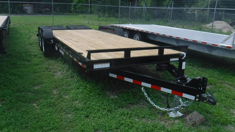 2018 Sure-Trac ST811731-B-140 Equipment Trailer