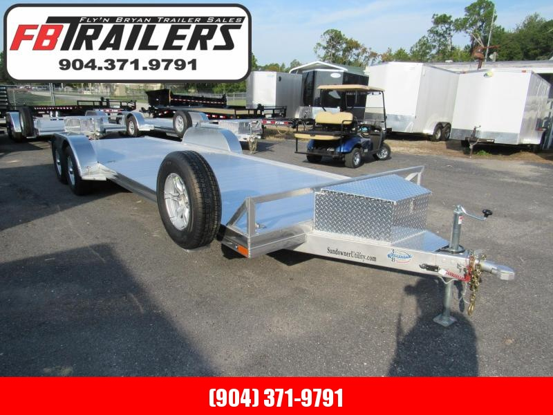 2020 Sundowner Trailers AP 24 Open Car Hauler Car / Racing Trailer