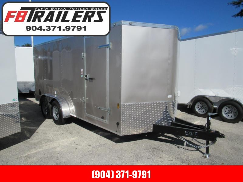 2019 Continental Cargo 7x16 5200lb Axles Enclosed Cargo Trailer