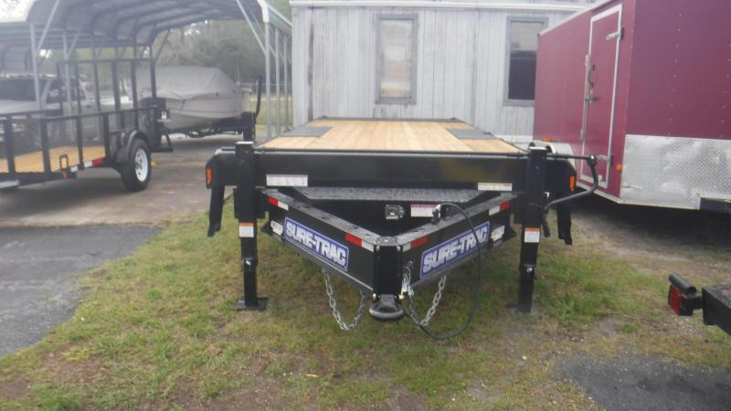 2018 Sure-Trac ST10222DOT2A-B-150 Equipment Trailer
