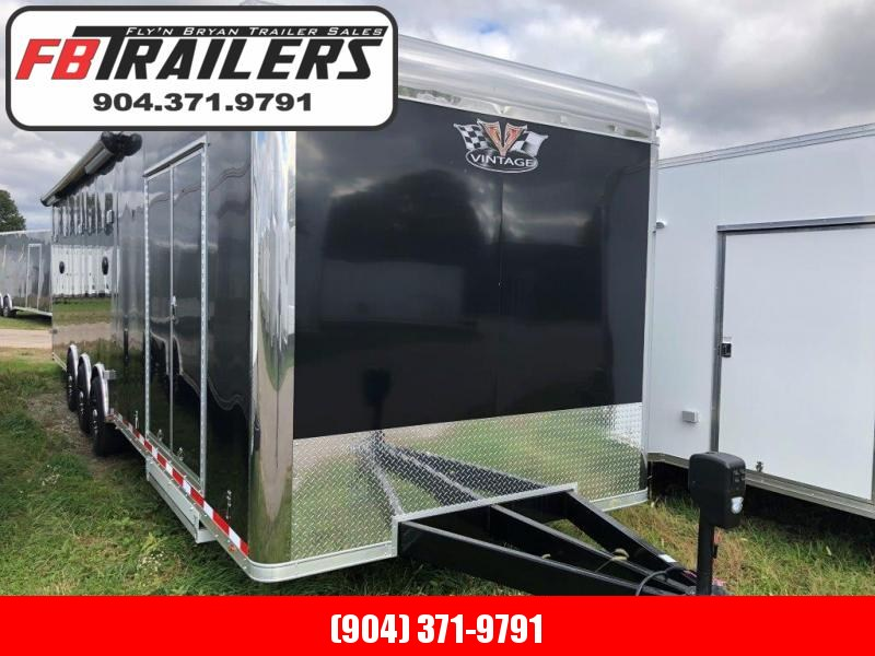 2019 32' PRO STOCK Race Trailer LOADED by Vintage