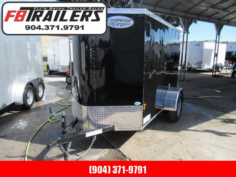 2019 Continental Cargo 5X8 DoubleDoors Enclosed Cargo Trailer