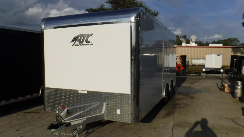 2018 20' Spread Axle Premium Escape Quest  Race Trailer by ATC