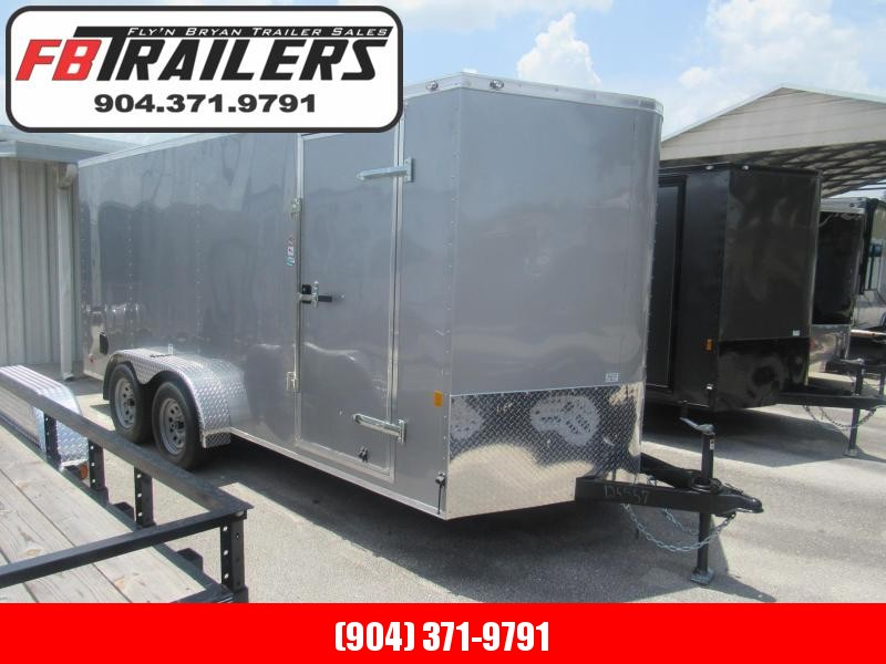 2020 Continental Cargo 7X16 Enclosed Cargo Trailer