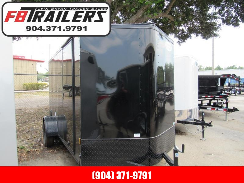 2020 Continental Cargo 6x12 Black out Enclosed Cargo Trailer