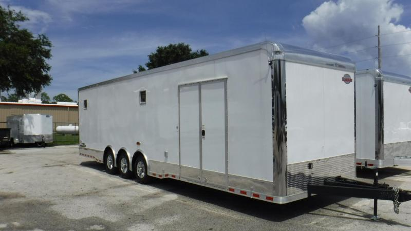 2017 32'  Spread Axle Cargo Mate Eliminator  Race Trailer