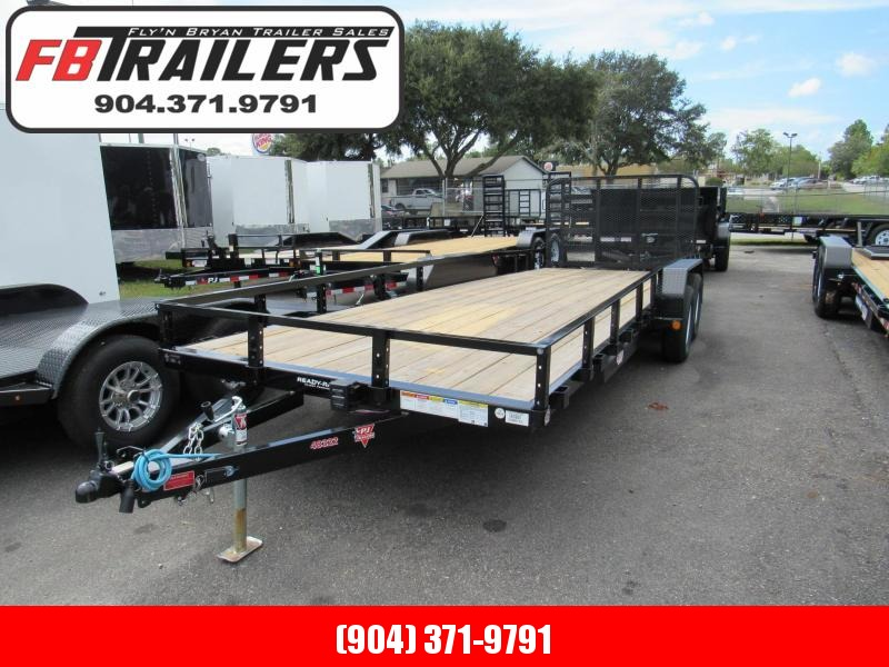 2019 PJ Trailers 7X22 HD Ramp Utility Trailer