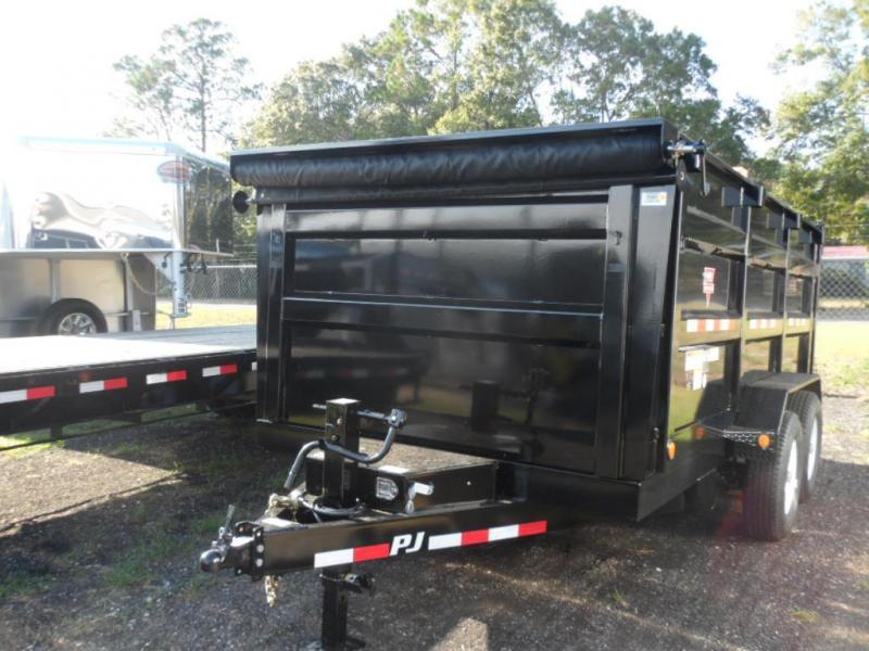 2017 PJ Trailers 7x14 High Side Dump Trailer