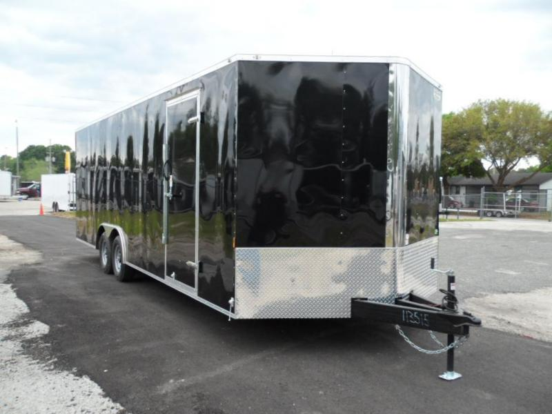 2019 24' Continental Cargo NS Series Racing Trailer