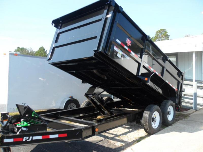 2017 7x14 Low Pro High Side Dump Trailer