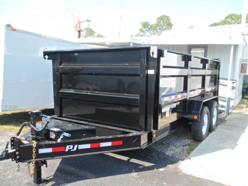 2018 7x14 Low Pro High Side Dump Trailer