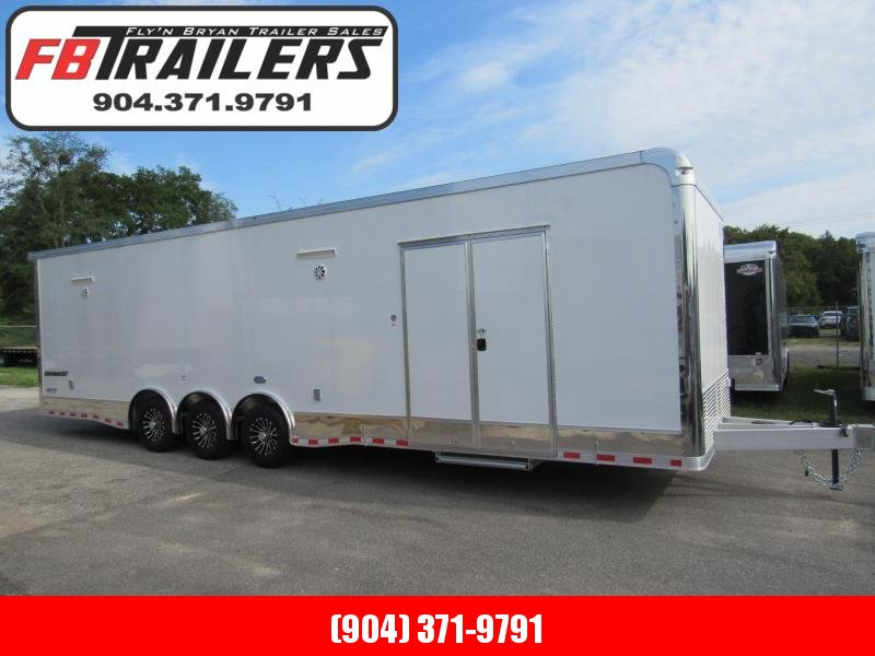 2020 Cargo Mate 32ft Aluminum Frame Car / Racing Trailer