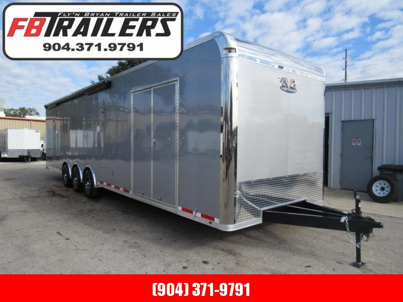 2019 Vintage Trailers 34 ft Bath Package Car / Racing Trailer