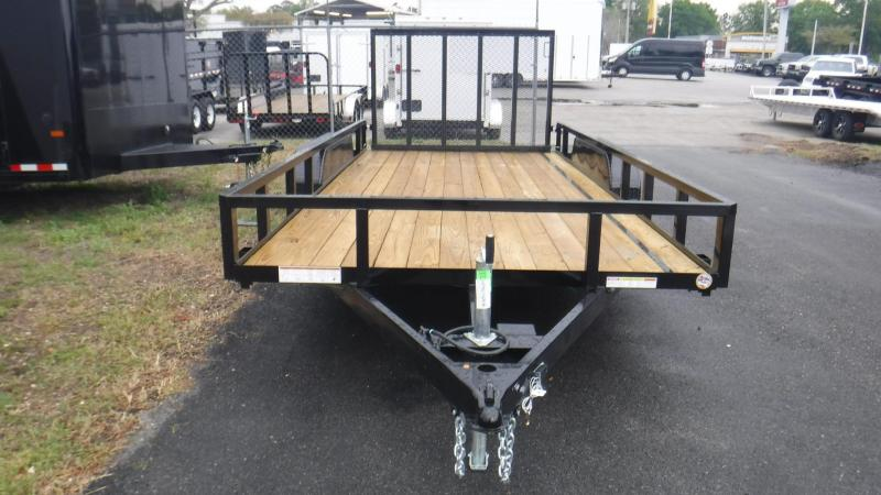 2018 82x16  Open Utility Trailer By Sure Trac