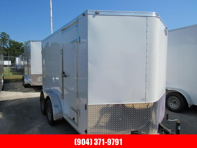 2020 Continental Cargo 7x12 Double Doors Enclosed Cargo Trailer