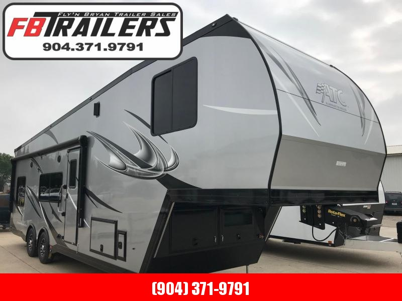 2020 36' 5TH WHEEL ATC ALL ALUMINUM TOY HAULER LOADED