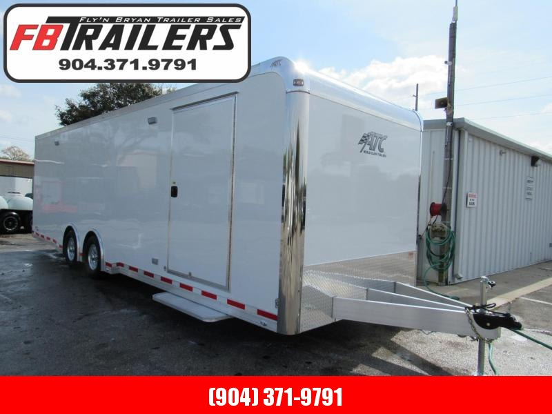 2020 ATC 28' with Premium Escape Door Car / Racing Trailer