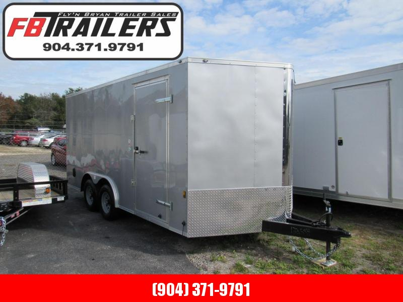2019 Continental Cargo 8.5X16 5200lb Axles Enclosed Cargo Trailer
