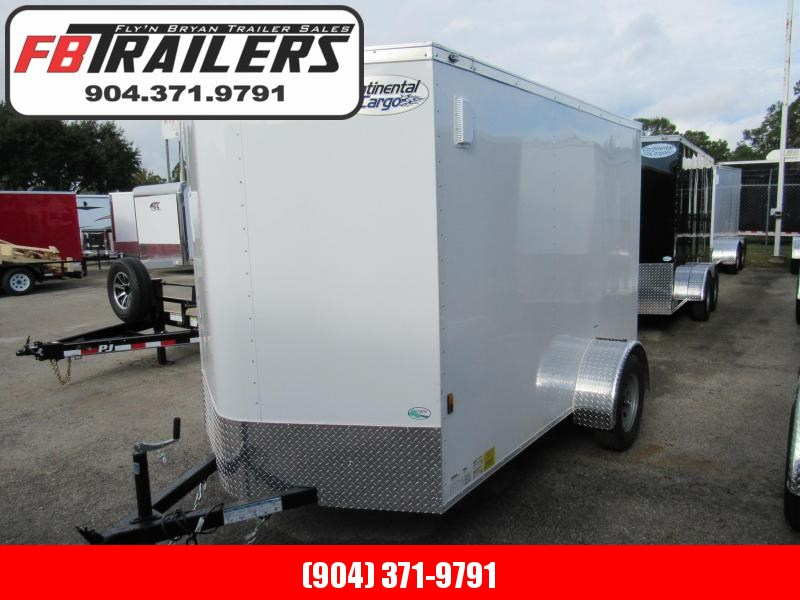 2020 Continental Cargo 6X10 Enclosed Cargo Trailer