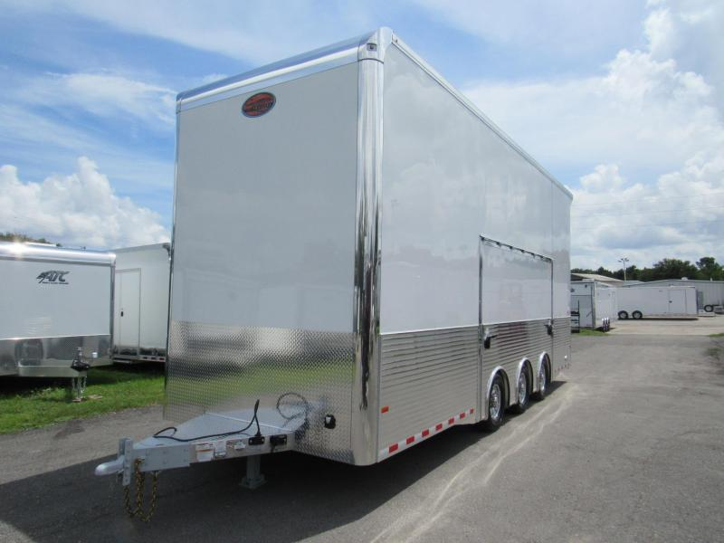 2019 Sundowner 26ft All Aluminum Stacker  Car / Racing Trailer