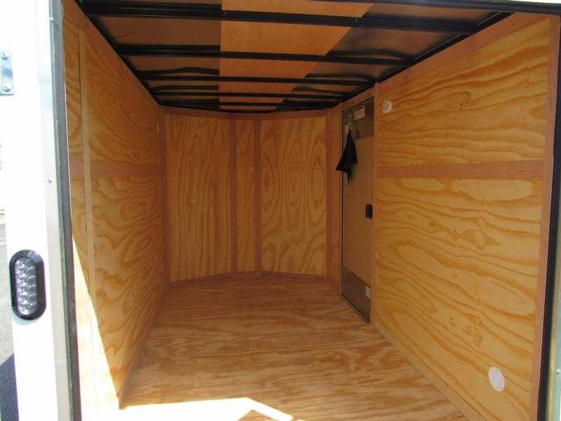 2020 Continental Cargo 6X10 with Double Doors Enclosed Cargo Trailer