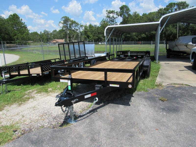2019 Sure-Trac 7x20 HD Equipment Gate Utility