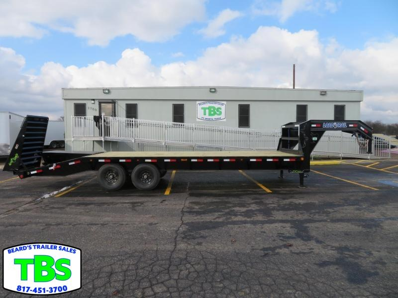 2019 Load Trail Gooseneck 102x25 Flatbed Trailer