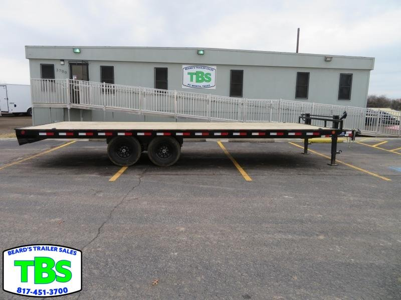 2019 Load Trail 102x20 Flatbed Trailer